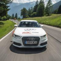 Audi A6 2.0 TDI ultra sets Guinness World Record for travelling 14 countries without refueling