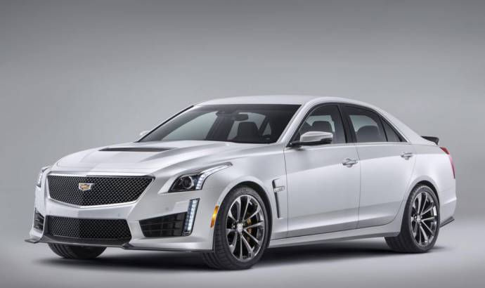 Cadillac CTS-V is heading to Europe