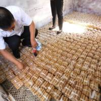 Chinese man paid his car with coins