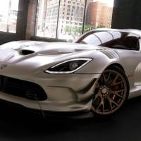 Dodge Viper offered with 8000 colour combinations