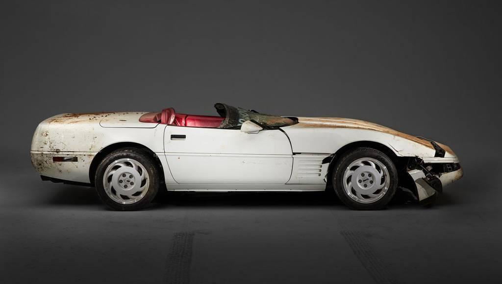 GM starts restoration on milionth Corvette damaged by sinkhole