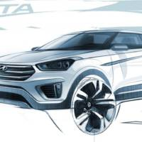 Hyundai Creta - First official sketches