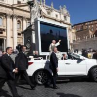 Hyundai Santa Fe Convertible is the new Pope mobile