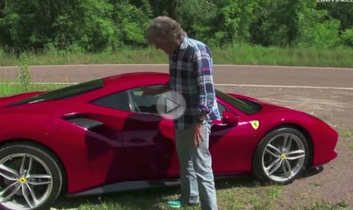James May is reviewing the new Ferrari 488 GTB