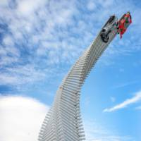 Mazda sculpture for Goodwood Festival of Speed