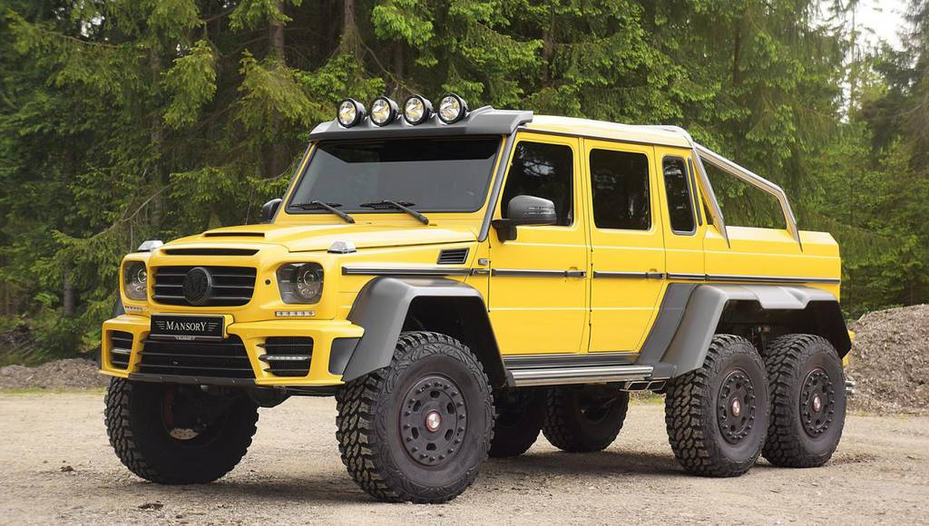 Mercedes-Benz G63 AMG 6x6 modified by Mansory