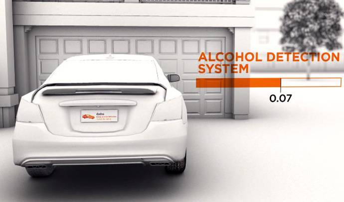 NHTSA new Alcohol-Detection Vehicle Technology is around the corner
