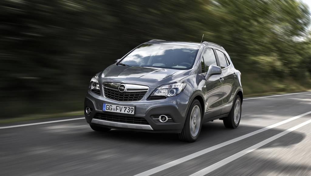 Opel Mokka receives new 1.6 CDTI engine