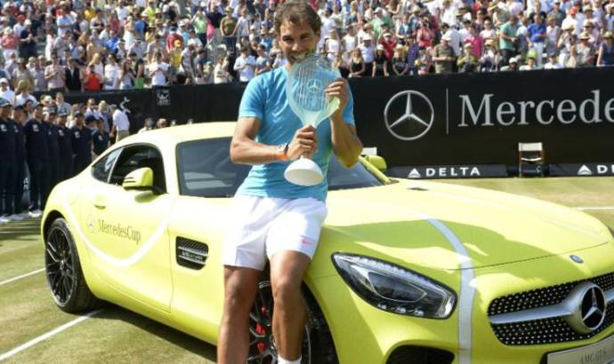 Rafael Nadal wins a Mercedes-AMG GT but he is unhappy about the color