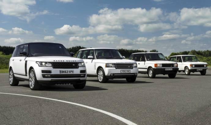 Range Rover celebrates 45th anniversary