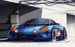 Renault Alpine Celebration concept unveiled at Le Mans