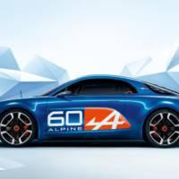Renault Alpine Celebration concept unveiled at Le Mans