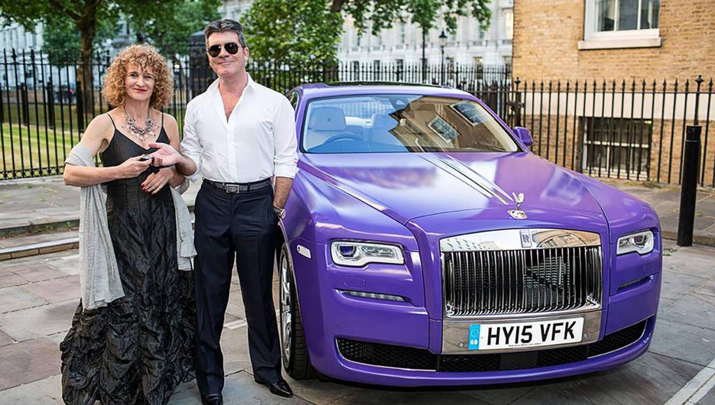 Rolls Royce Ghost offerd for charity