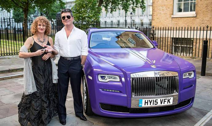 Rolls Royce Ghost offerd for charity