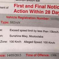 This is how you get a speeding ticket even though you had the legal speed