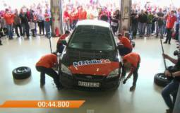 This is the new Guinness World Record for the fastest tire change (+Video)