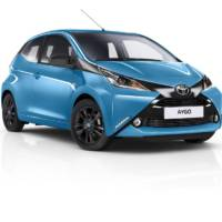 Toyota Aygo x-Cite version unveiled