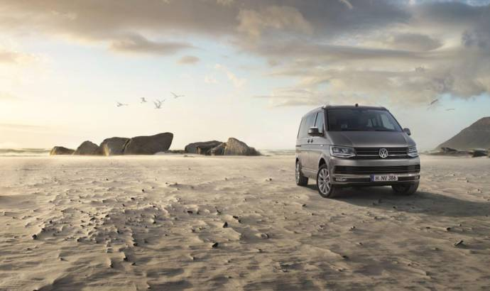 Volkswagen California T6 unveiled