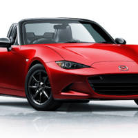 1990 Mazda MX-5 challenged by a new generation MX-5 on circuit