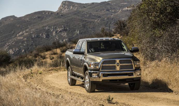 2016 Ram 2500 and 3500 updated