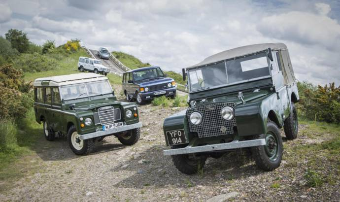 Land Rover Heritage Driving Experience detailed