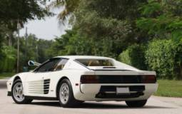 1986 Ferrari Testarossa from Miami Vice will go up for auction