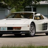 1986 Ferrari Testarossa from Miami Vice will go up for auction