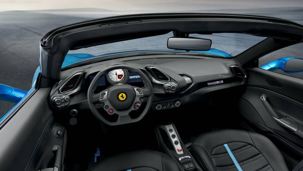 2015 Ferrari 488 Spider - Official pictures and details