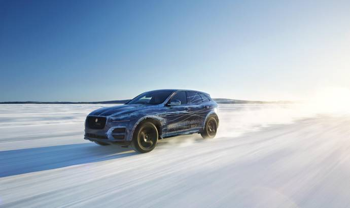 2016 Jaguar F-Pace tested in extreme conditions