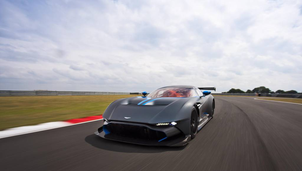 Aston Martin Vulcan to lap Spa 24 Hours