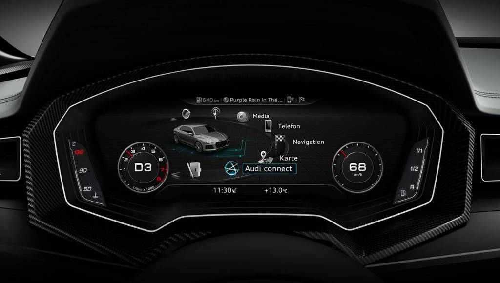 Audi A3 facelift will feature the Virtual Cockpit