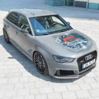 Audi RS3 Sportback with carbon fiber wheels