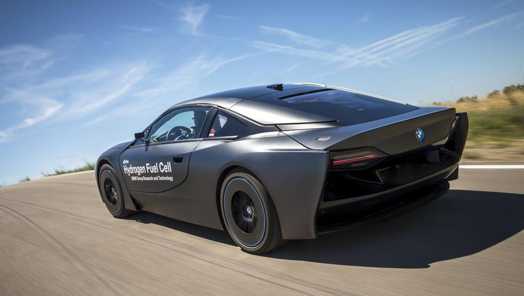 BMW i8 hydrogen fuel cell research vehicle is eco as a tree