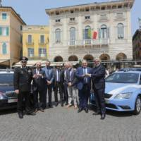 Carabinieri and Polizia Stradale to drive the Seat Leon