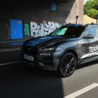 Jaguar F-Pace made its debut in Tour de France