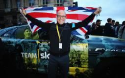 Jaguar F-Pace special livery for Tour de France win