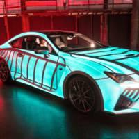 Lexus RC-F Heartbeat special car
