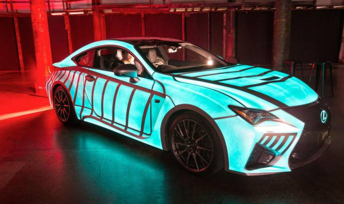 Lexus RC-F Heartbeat special car