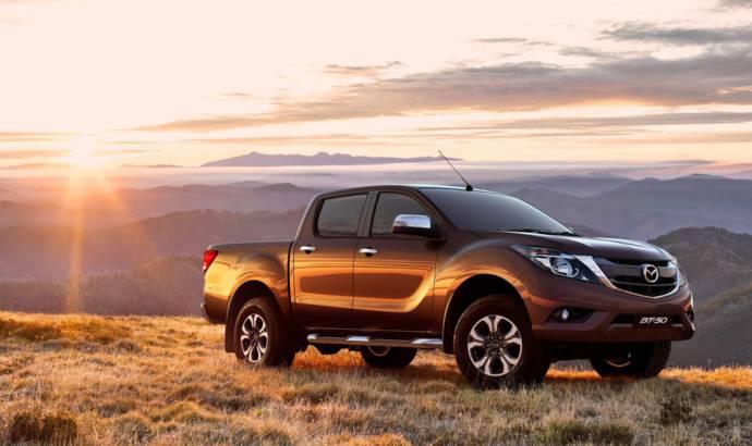 Mazda BT-50 facelift introduced on the market