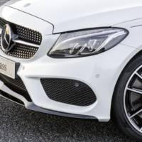 Mercedes-Benz C-Class can now be accessorized with AMG parts