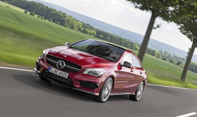 Mercedes CLA45 AMG and GLA45 AMG receive new 381 hp engine