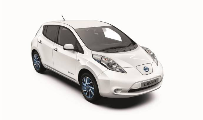 Nissan Leaf Accenta+ introduced in UK