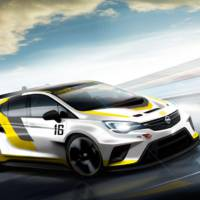 Opel Astra TCR race car teased