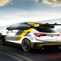 Opel Astra TCR race car teased