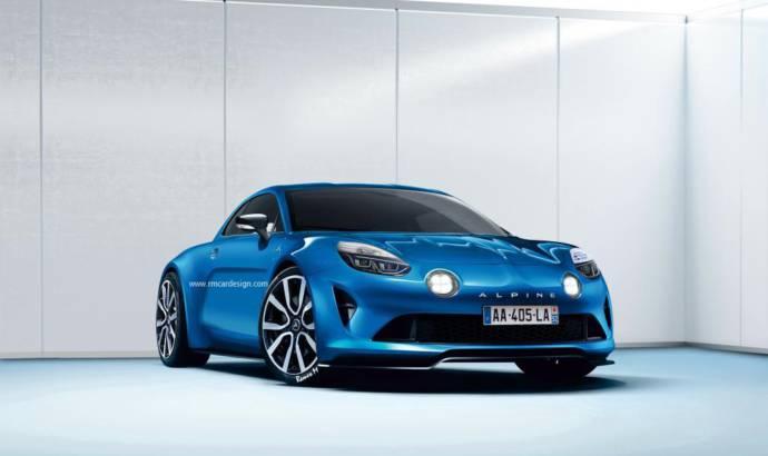 Renault Alpine will have a 1.8 liter 300 HP engine