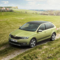 Skoda Rapid Spaceback ScoutLine introduced