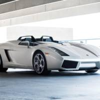 The one-off 2006 Lamborghini Concept S is going up for auction