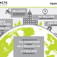 TomTom global coverage extended to include 134 countries
