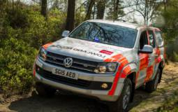 Volkswagen Amarok transformed in search and rescue vehicle