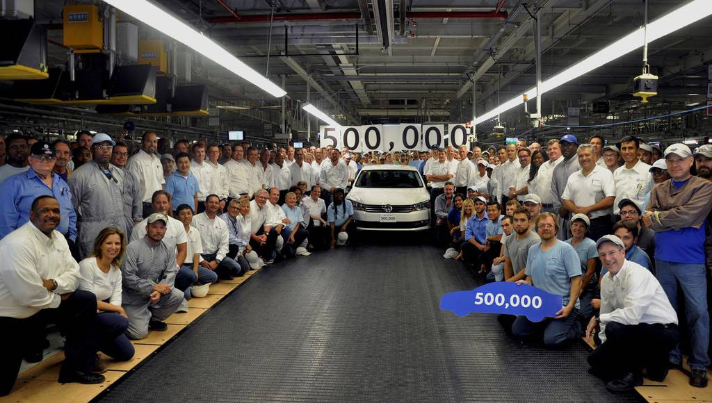 Volkswagen Passat reaches 500.000 units milestone in Chattanooga